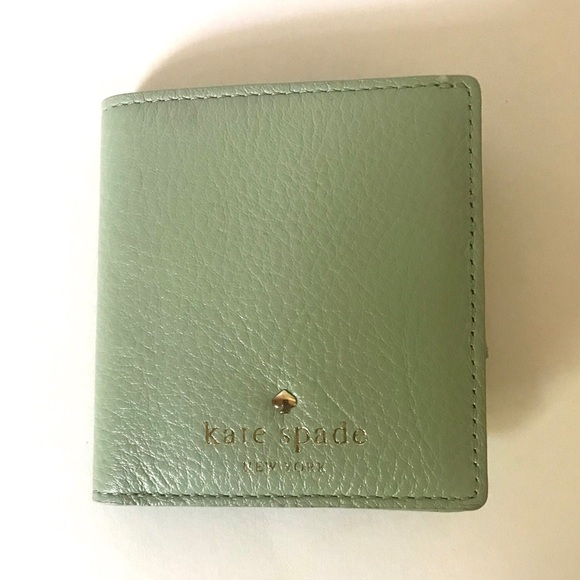 kate spade Handbags - NWT Kate Spade Dustymint Small Stacy Wallet